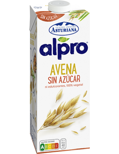 BEBIDA DE AVENA SIN AZUCAR 1L.x8